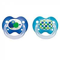 Соска детская силиконовая Babydream Slimline 2 6-18 місяців, 2 шт