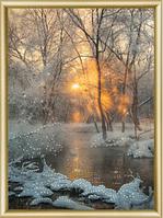 Набор для рисования стразами Зимний ручей КС-173