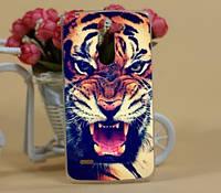Чехол-накладка для LG Stylus G3 d690 с рисунком Тигр