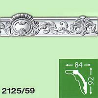 Потолочный плинтус Baraka Decor 59/2125 (92*84) 2м