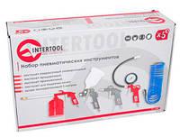 Набор для компрессора Интертул Intertool PT-1502 5 вещей