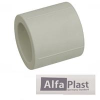 Муфта полипропиленовая 25 Alfa Plast PPR