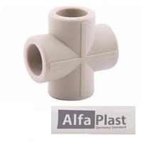 Крестовина полипропилен PPR 25 мм Alfa Plast