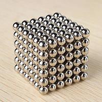 Магнитные шарики NEO CUB, игрушка-конструктор, головоломка 216 шариков NeoCube (неокуб)