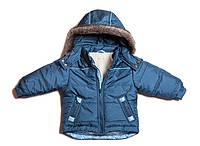 Стильная зимняя детская куртка для мальчика