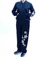 Женский спортивный костюм с узором Цветы