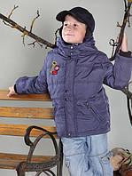 Утепленная детская куртка для мальчика
