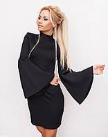 Платье женское с широкими рукавами, фото 1
