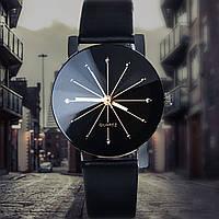 НОВИНКА! Стильные женские часы. Коричневый (Код 034)