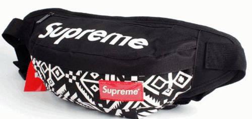 Отличная спортивная сумка на пояс Supreme 105, черный