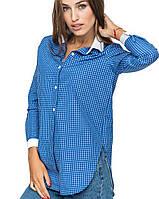 Рубашка с белым воротником | 1036 br