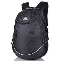 Рюкзак мужской ONE POLAR (ВАНПОЛАР) W1675-black