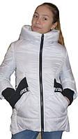 Куртка парка деми для девочки подростка