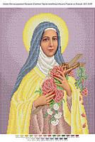 """Схема для вышивки бисером иконы """"Святая Тереза младенца Иисуса (Тереза из Лизье))"""""""