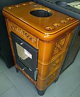 Печь топка в кафеле на дровах Domofire 6KW