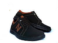 Туфли мужские комфорт New Balance черные