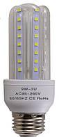 Новинка!!!Светодиодная лампа U-тип 9W E27 3000К