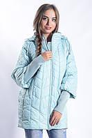 Женская куртка К-008 Голубой