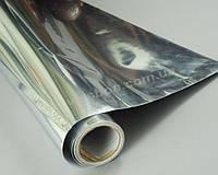 Глянцевая зеркальная пленка хром (серебро)