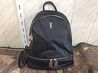 Yves Saint Laurent YSL сумка рюкзак ранец женская черная модная брендовая 9684