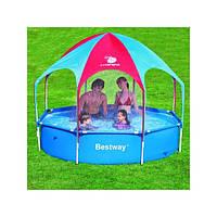 Каркасный бассейн с зонтиком и душем Bestway 56193