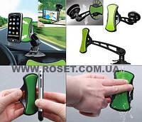 Подставка-держатель мобильного телефона, GPS и планшета GripGo