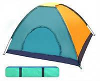 Палатка туристическая в чехле 4чел 200*180*140cm.
