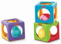 Развивающая игрушка Фишер Прайс Блоки с шариками