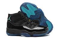 Air Jordan 11 black\ blue