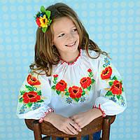 """Вишиванка для дівчинки """"Полонина"""" на зріст 98 см - 152 см"""