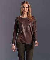 Женская трикотажная блуза в молодежном стиле. Модель Z05 Sunwear. Коллекция осень-зима 2017.