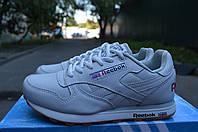 Мужские кроссовки Reebok Classic Leather (White / Gum)