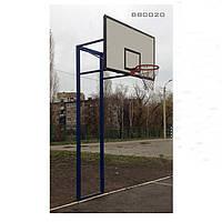 Стойка баскетбольная уличная с щитом из фанеры 1800х1050мм ВВ0020