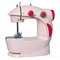 Мини швейная машина 4 в 1 (mini sewing machine) с блоком питания.