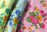 Махровые полотенца для рук Цветочки