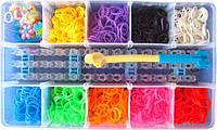 Резинки 1800 шт для плетения браслетов LOOM BANDS. Хит 2015г.