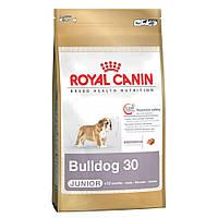 Сухой корм для щенков Royal Canin Bulldog Junior 30 12кг
