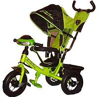 Детский трехколесный велосипед Lamborghini (AIR + ФАРА)