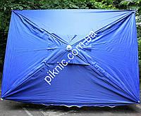 Зонт торговый, садовый 2х3м. Прочный зонт для торговли на улице!