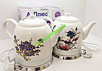 Керамический Электрочайник, А-Плюс A-Plus Чайник 1,5 л