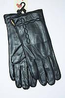 Кожаные женские перчатки w010