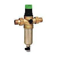 Самопромывной фильтр с манометром и редуктором давления 1/2 HONEYWELL (горячий)