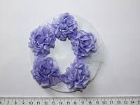 Сеточка для волос с цветами