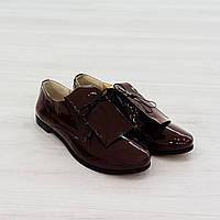 Туфли из лакированной кожи