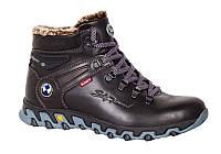 Мужские зимние ботинки с натуральной кожи Bumer 777