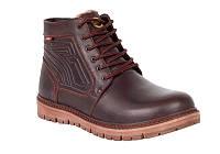 Мужские зимние ботинки с натуральной кожи Bumer 91