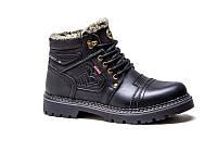 Мужские зимние ботинки с натуральной кожи Bumer 80