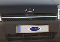Хром накладка на решётку радиатора Ford Connect 2002-2006 (1 шт.)