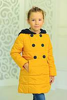 Осенная куртка «Луиза», горчица | куртки от производителя