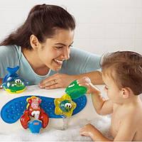 Развивающая игрушка Фишер Прайс для ванной, - Веселое купание